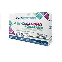 All Nutrition Ashwagandha + Guarana 30 kaps