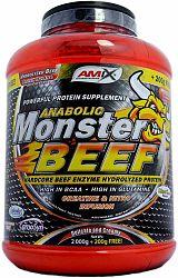 AMIX Anabolic Monster BEEF 90 Protein 2200 g strawberry banana