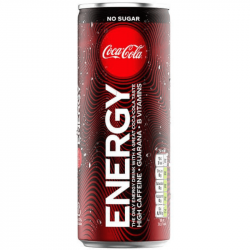 Coca Cola Energy Zero 250 ml
