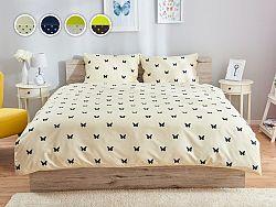 Dormeo Primavera posteľné obliečky, 140x200 cm, modrá