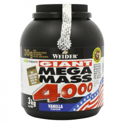 Gainer Giant Mega Mass 4000 - Weider 7000 g strawberry