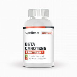 GymBeam Beta Carotene 60 kaps unflavored