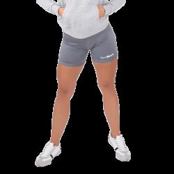 GymBeam Dámske fitness šortky Fly-By Grey