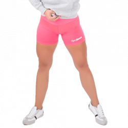 GymBeam Dámske fitness šortky Fly-By Pink