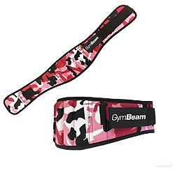 GymBeam Dámsky fitness opasok Pink Camo