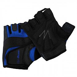 GymBeam Fitness rukavice Dexter black - blue XXL