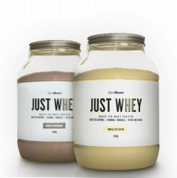 GymBeam Just Whey 1000 g white chocolate coconut