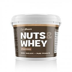 GymBeam Nuts & Whey 1000 g chocolate