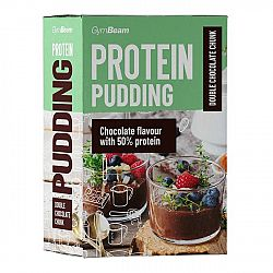 GymBeam Protein Pudding 500 g double chocolate chunk