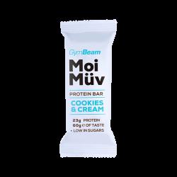 Gymbeam Proteínová tyčinka MoiMüv 60 g cookies & cream