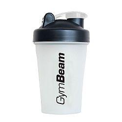 GymBeam Šejker Blend Bottle priesvitno-čierny 400 ml