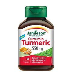Jamieson Kurkumín 550 mg 60 kaps