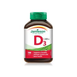 Jamieson Vitamín D3 1000 IU 100 tab