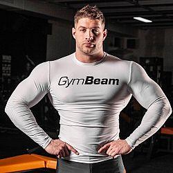Kompresné tričko Spiro White/Black - Gym Beam L