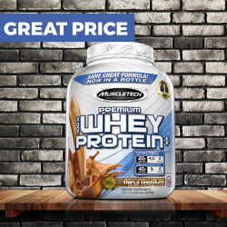 MUSCLETECH 100 Premium Whey Protein Plus 2270 g vanilla