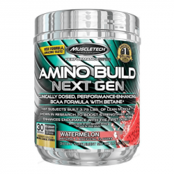 MuscleTech Aminokyseliny Amino Build Next Gen 270 g white raspberry