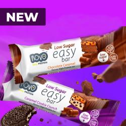 NOVO Easy bar 60 g chocolate caramel