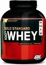 OPTIMUM 100 Whey Gold Standard 4540 g delicious strawberry