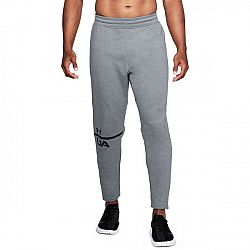 Pánske tepláky UNDER ARMOUR Tech Terry Tapered Pant sivé grey M