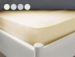 Posteľná plachta Essenso Dormeo, 90x200 cm, biela