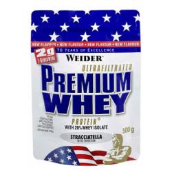 Premium Whey Protein - Weider 2300 g strawberry vanilla