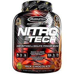 Proteín Nitro-Tech Performance - MuscleTech 1800 g cookies & cream