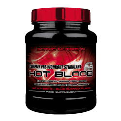 Scitec Nutrition Hot Blood 3.0 300 g blue guarana