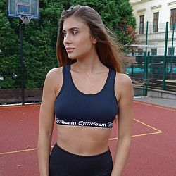 Športová podprsenka Simple Black - GymBeam black M