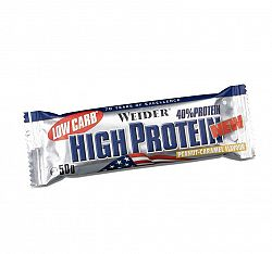 WEIDER LOW CARB HIGH PROTEIN 50 g proteinová tyčinka chocolate