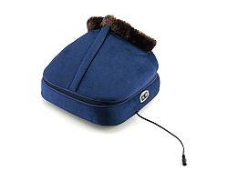 Wellneo masážny prístroj s vyhrievaním 2v1, modrá