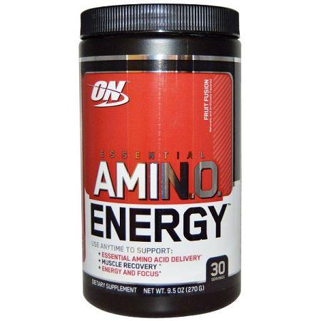 Aminokyseliny Amino Energy 270 g - Optimum Nutrition lemon lime