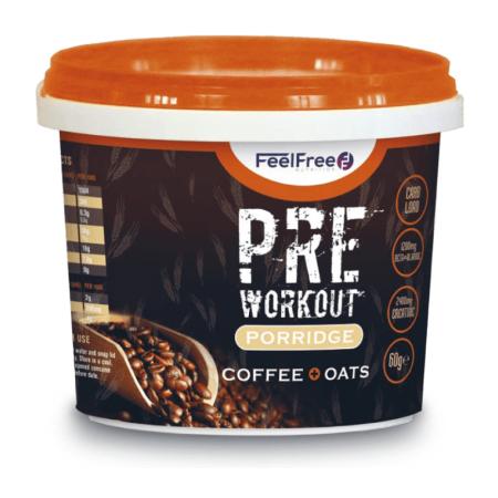 Feel Free Nutrition Porridge Pre-Workout 85 g vanilla caramel