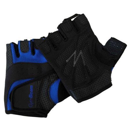 GymBeam Fitness rukavice Dexter black - blue XXL