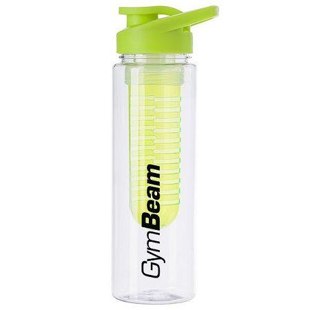 GymBeam Fľaša Fruit Infuser Green 650 ml