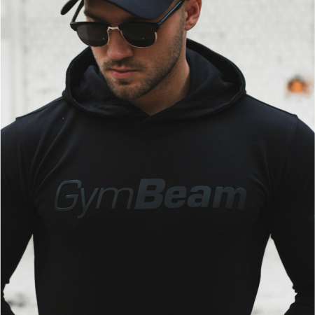 GymBeam Mikina Urban Black black XXL