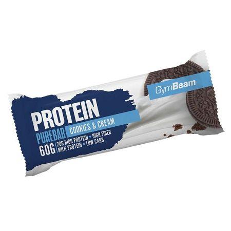 GymBeam Protein PureBar 12 x 60 g (box) banana dream