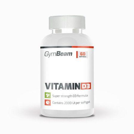 GymBeam Vitamin D3 2000 IU 240 kaps