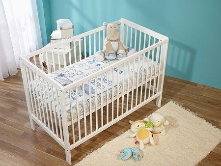 Obojstranný detský matrac Dormeo Baby Pedic, 60x120 cm, modrá