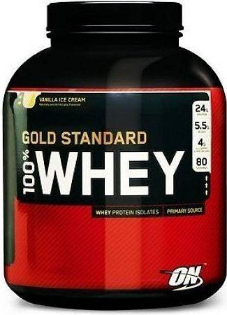 OPTIMUM 100 Whey Gold Standard 2270 g vanilla ice cream
