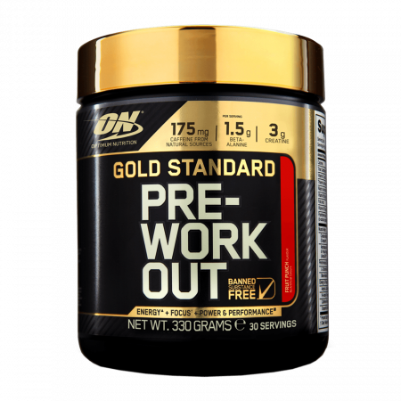 Optimum Nutrition Gold Standard Pre-Workou 330 g pink lemonade