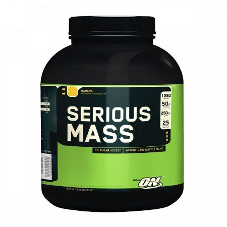 Optimum Nutrition Serious Mass 2727 g vanilla