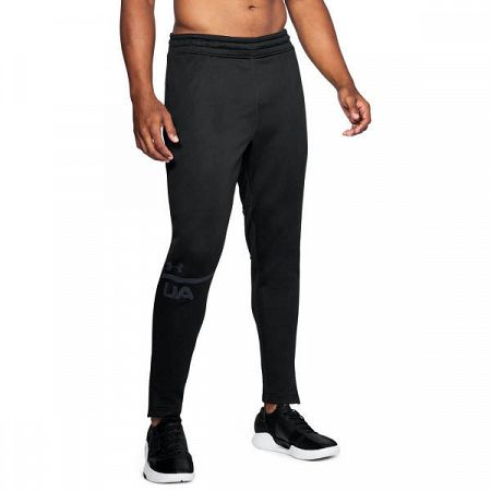 Pánske tepláky Under Armour MK1 Terry Tapered 001 black L