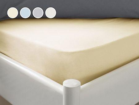 Posteľná plachta Essenso Dormeo, 120x200 cm, biela