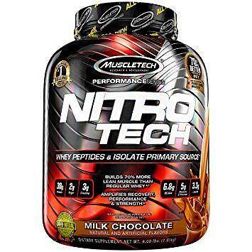 Proteín Nitro-Tech Performance - MuscleTech 1800 g vanilla