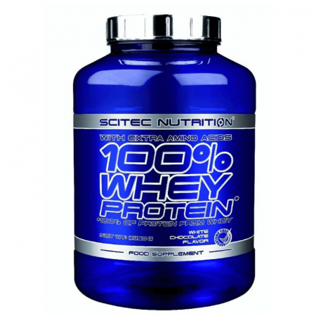 Scitec Nutrition 100 Whey Protein 5000 g white chocolate