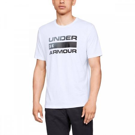 Under Armour Team Issue Wordmark SS White